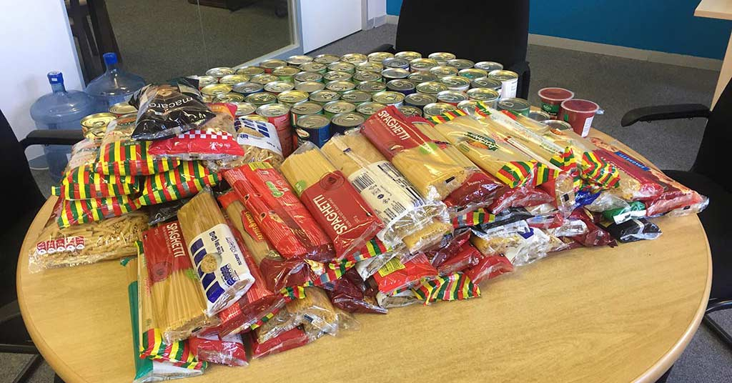 mandela day pasta kitchen donation image