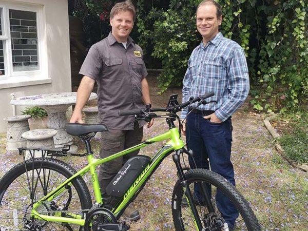 Donated mountain bike
